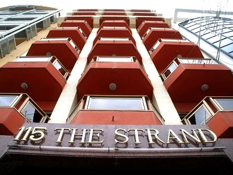 The strand 115